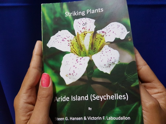 Unique plants on Seychelles' Aride island focus of new book
