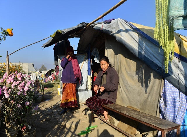 Debt traps threaten Nepal quake victims