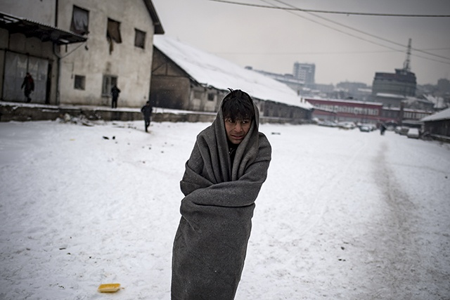 Deux femmes tuées par le froid et les tempêtes en Europe