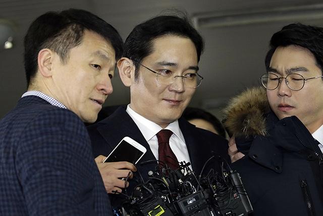 L'arrestation de l'héritier de Samsung requise en Corée du Sud