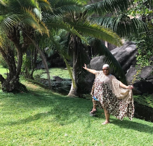 'Sorry, Trump - I'm coming home!' American comedienne Luenell says goodbye to Seychelles