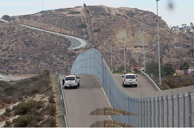 Donald Trump lance son projet de mur à la frontière mexicaine, le président Pena Nieto condamne