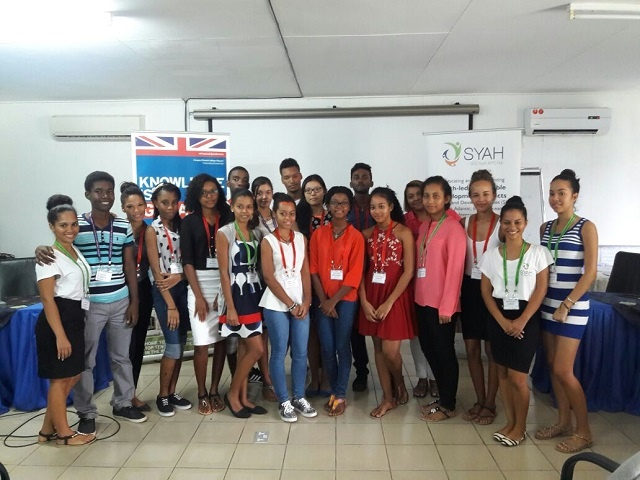 Seychellois youth share Blue Economy experience with island neighbours