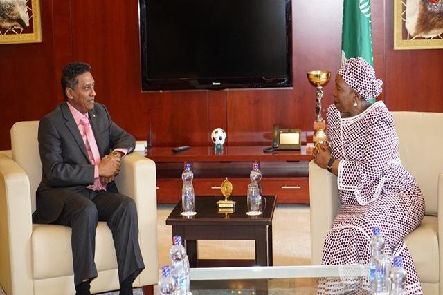 Les Seychelles renforcent la coopération avec les pays africains à l'UA