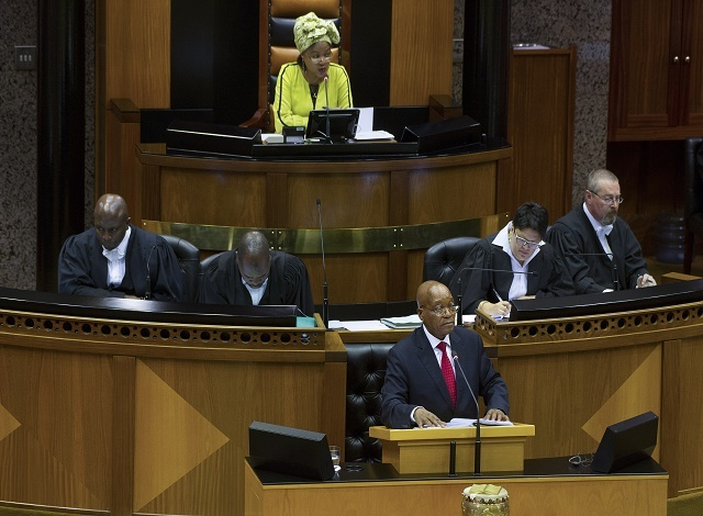 S.African troops deployed for state of nation address