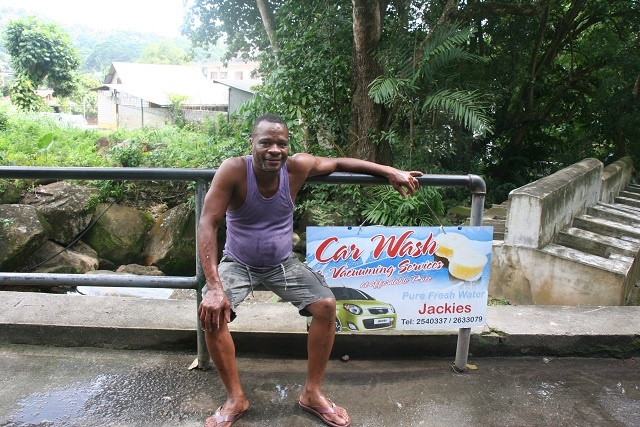 Eco-friendly car wash becoming a success in Seychelles
