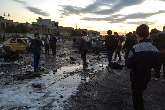 Huge Baghdad car bomb kills at least 52