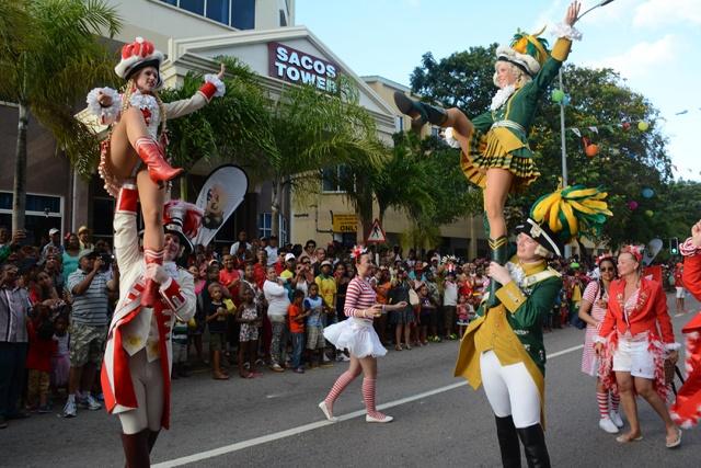 Le carnaval des Seychelles sera intégré au Festival Créole