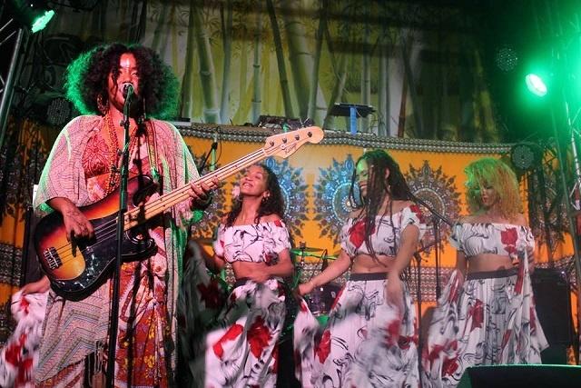 Seychellois musician Grace Barbé tours East Africa