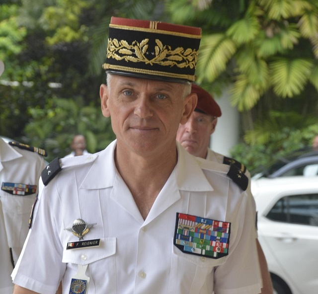 French general: Marine security, drug trafficking top concerns for Seychelles, Reunion