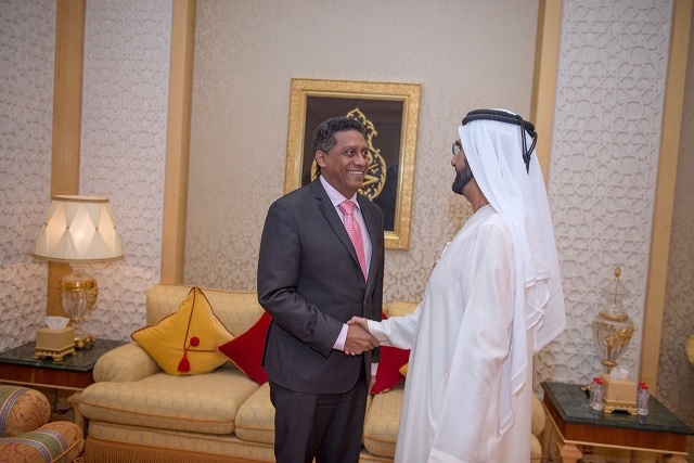 With piracy defeated, Seychelles seeks UAE's support in shipping line talks