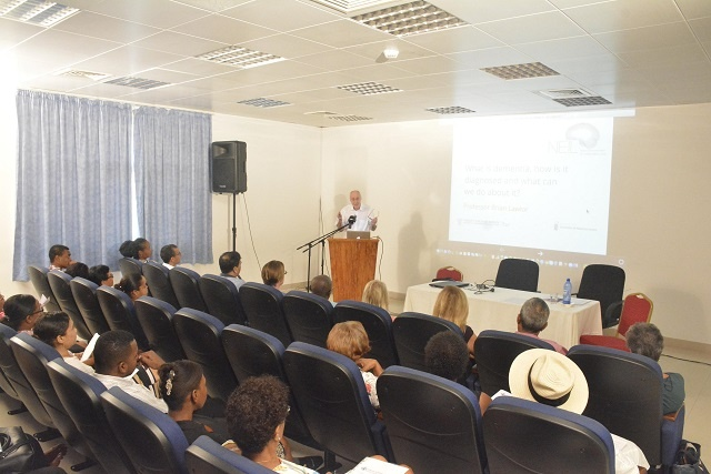 Foreign experts provide training on Alzheimer's, a disease few in Seychelles know about