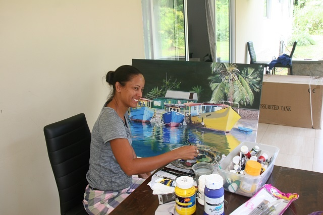 Women's Day: A painter finds inspiration in the islands