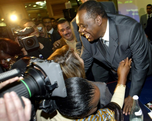 Football: African supremo Hayatou faces fight in bid for eighth term