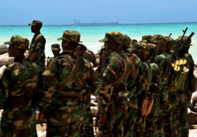 Somali forces ready to use force to free ship seized by pirates