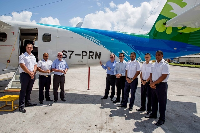 Seychelles' national airline welcomes new Twin Otters