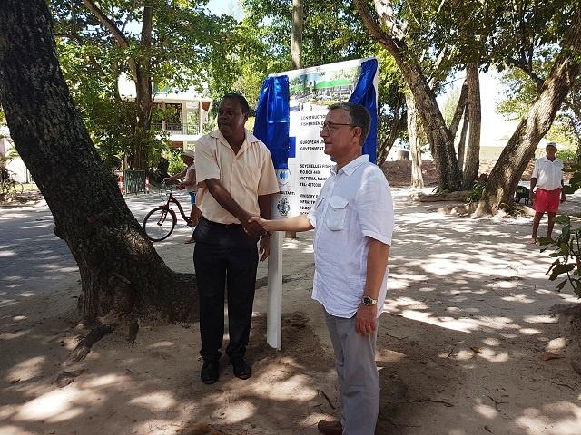 Un nouveau projet de pêche financé par l'UE est en cours sur une île des Seychelles