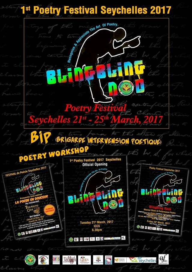 Seychelles hosts first poetry festival: Bling Bling nod
