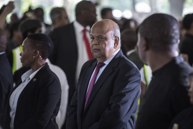 S.African finance minister sacked in shock reshuffle