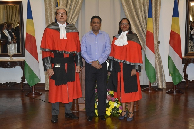 Seychelles' new Supreme Court judges and ombudsman sworn in