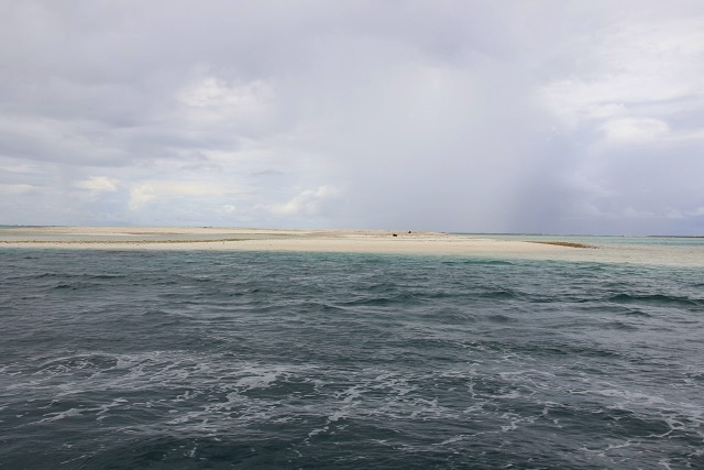 Two new islands? Cyclone leads to large sand dunes off Seychelles' island of Farquhar