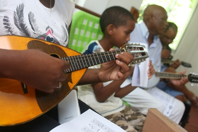 Mandolin revival: Conservatory promoting traditional musical instruments of Seychelles