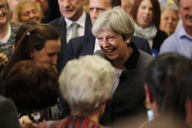 May hosts EU leaders as Brexit positions harden