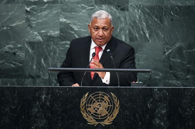 Fiji urges Trump to honour Paris climate deal