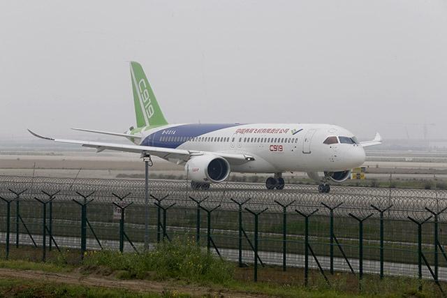 Et maintenant il vole, ce C919 — Chine