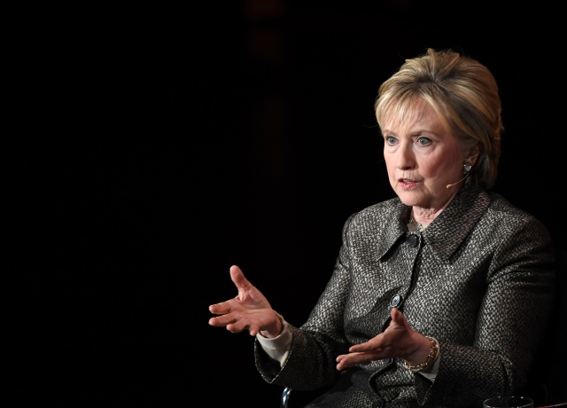 Clinton: FBI chief and Putin cost her election