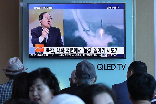 La Chine appelle à la retenue après le tir de missile nord-coréen