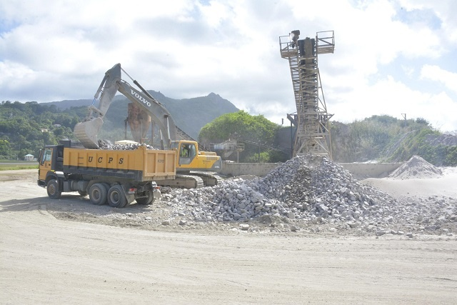 United Concrete facing shortage of raw material in Seychelles
