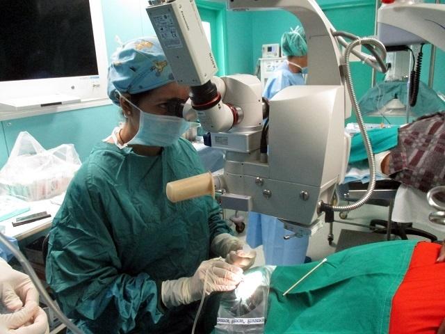 Plus de 100 patients retrouvent leur acuité visuelle dans le camp ophtalmologique des Seychelles