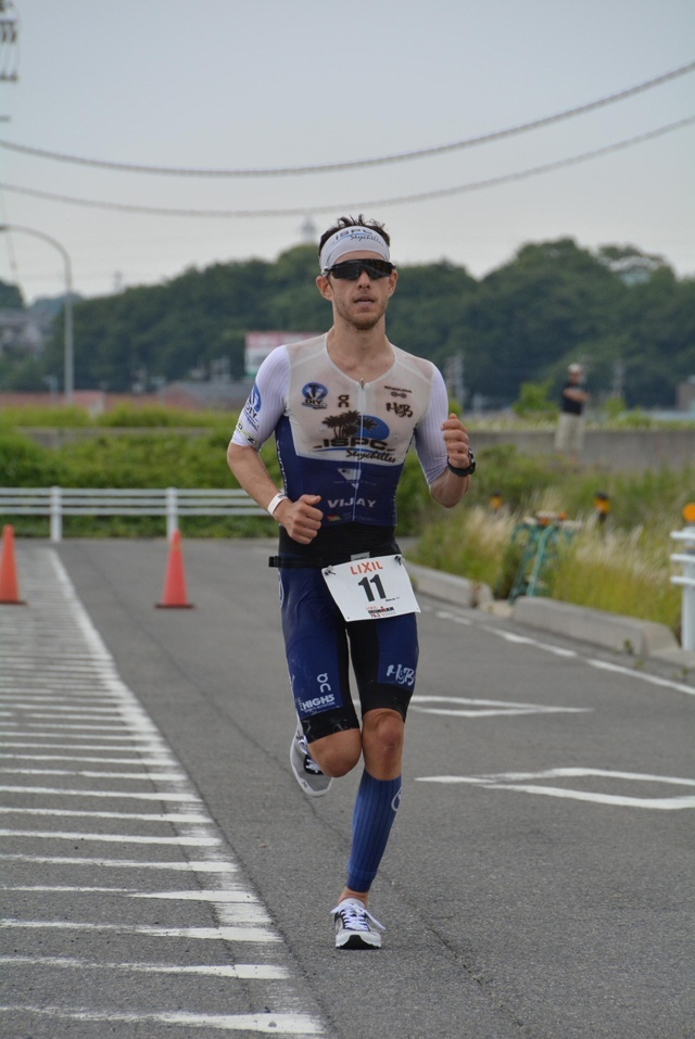 Belle performance : un triathlète des Seychelles sur le podium final de l'Ironman au Japon.
