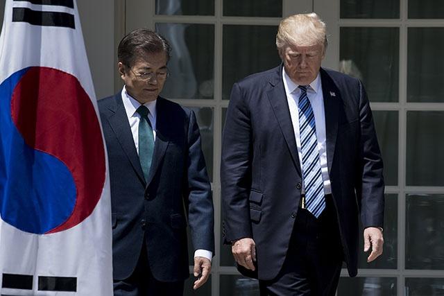 Trump: le temps de la patience face à Pyongyang est révolu