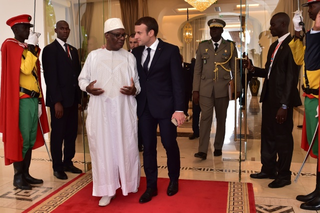 Macron in Mali for diplomatic push on Sahel anti-jihadist force