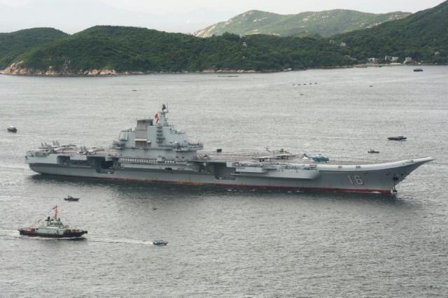 Chine: le porte-avions Liaoning pour la première fois à Hong Kong