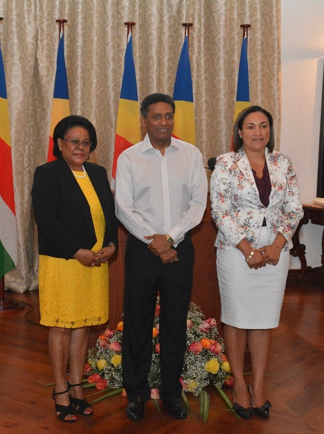 Seychelles gets 2 additional female ministers in cabinet, portfolios to be announced