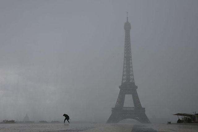 Record absolu de pluie en une heure à Paris dimanche soir