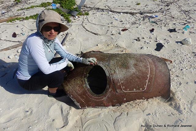 Des débris d'avion découverts sur l'atoll de Farquhar aux Seychelles