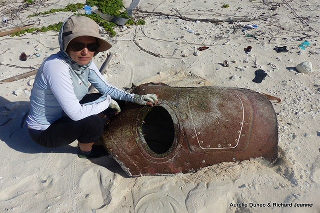 Suspected aircraft debris found on Seychelles' atoll of Farquhar