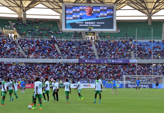 Football: Rooney nets on Everton return in Africa friendly