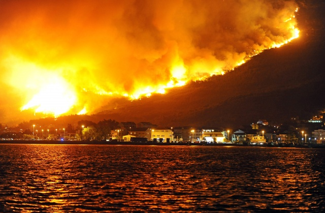 Wildfires rage in Europe from Croatia to Portugal