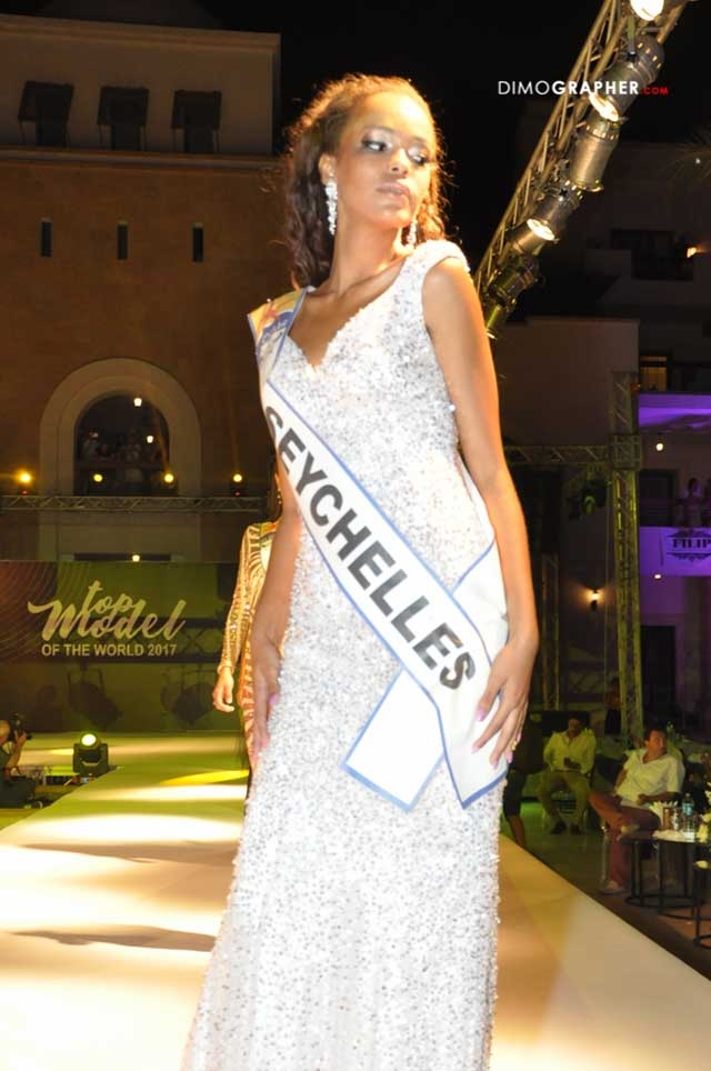 Seychellois model wins photogenic title, ranks fourth at Top Model of the World 2017