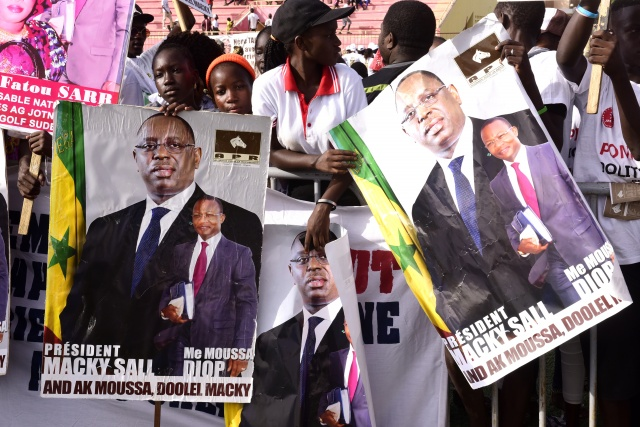 President Sall faces double challenge as Senegal elects MPs