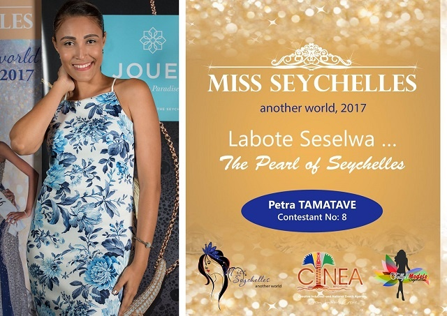A voyage of self-discovery is how contestant Petra Tamatave sees Miss Seychelles beauty pageant