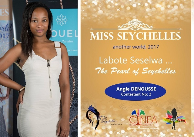 Helping young people facing challenges interests contestant Angie Desnousse in Miss Seychelles pageant