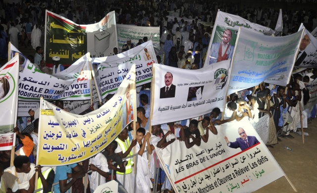 Clashes on final day of Mauritania referendum campaign