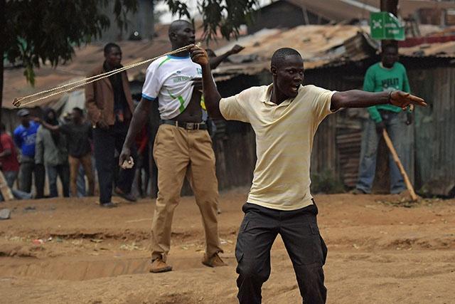 Kenya: trois morts au lendemain de la réélection de Kenyatta