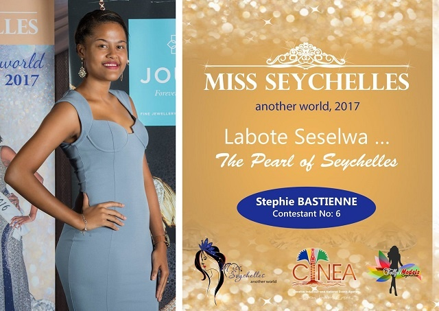Miss Seychelles contestant Stephie Bastienne to help find ways to stop bullying among children